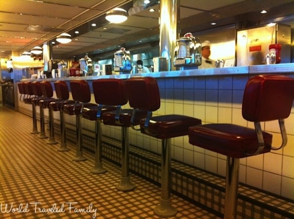Freedom of the Seas - johnny rockets