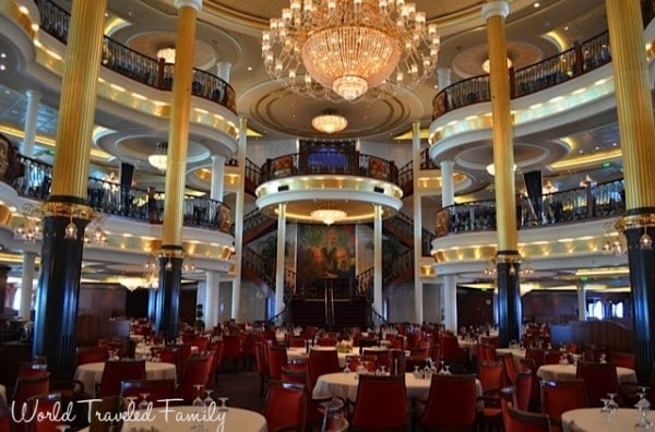 Freedom of the Seas - main dining room