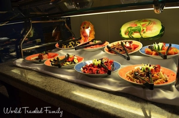 Freedom of the Seas - windjammer salads