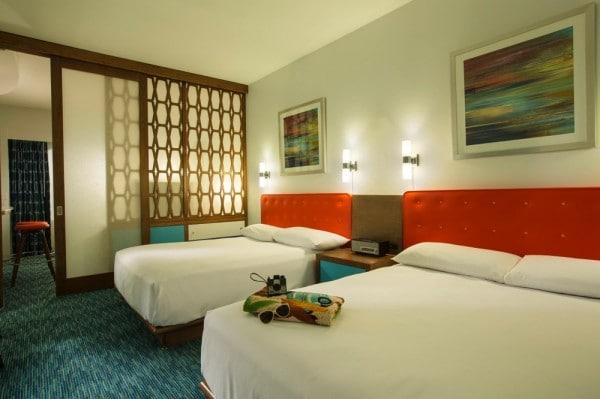 Loews Cabana Bay Hotel - family suite