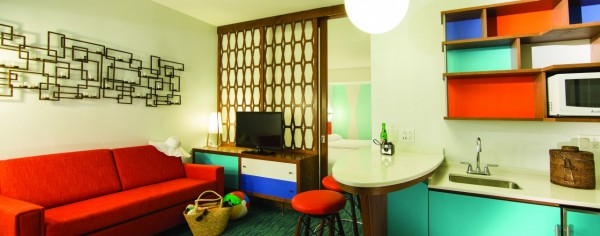 Loews Cabana Bay Hotel - family suite