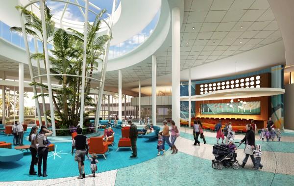 Swizzle Lounge - Universal's Cabana Bay Beach Resort