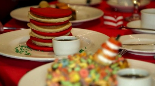 Carnival Cruise Lines Seuss at Sea - breakfast