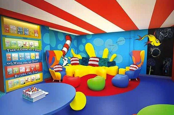 Carnival Cruise Lines Seuss at Sea - lounge