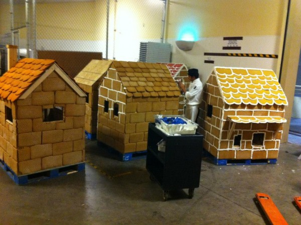 Chefs creating JW Marriott Desert Ridge Gingerbread Village