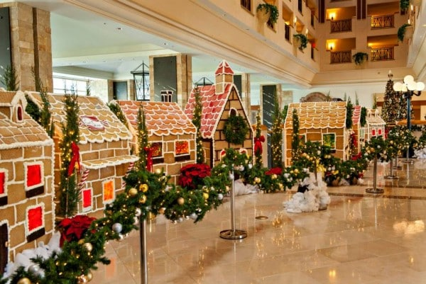 JW Marriott Desert Ridge Gingerbread Village
