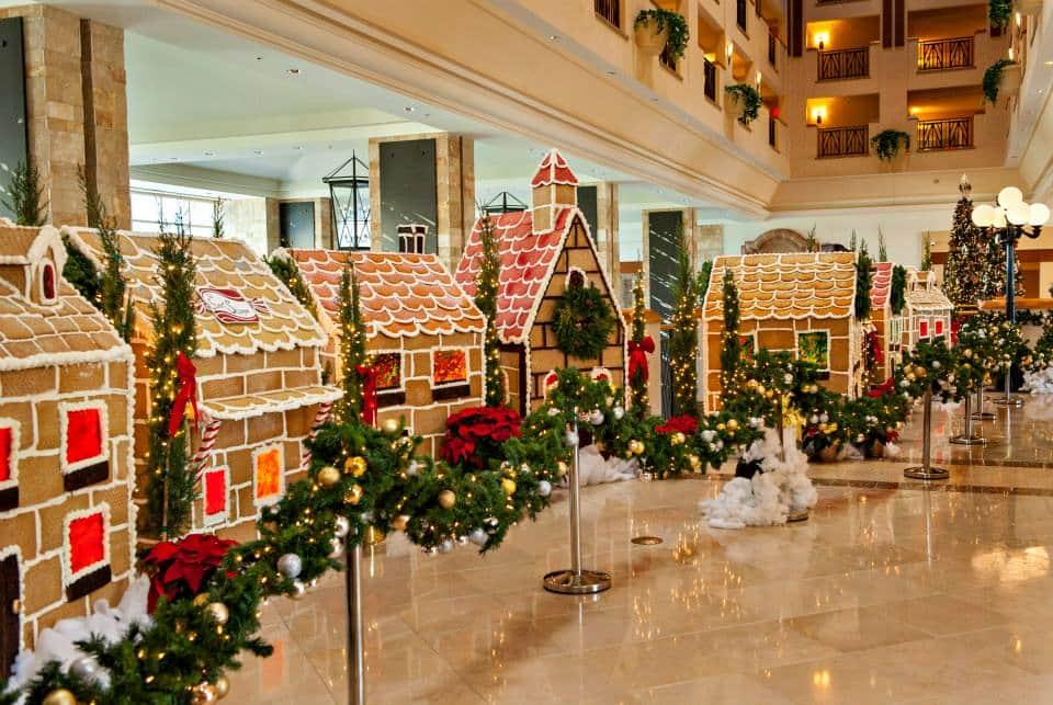 JW Marriott Desert Ridge Debuts Their Life Size Gingerbread Village!