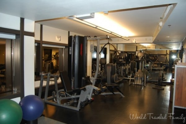Westin Southfield Detroit  - workout room