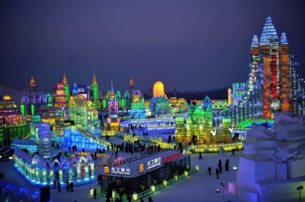 30th Harbin International Ice and Snow Festival in China
