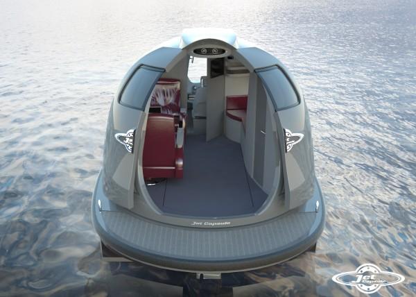 Jet Capsule - custom interior