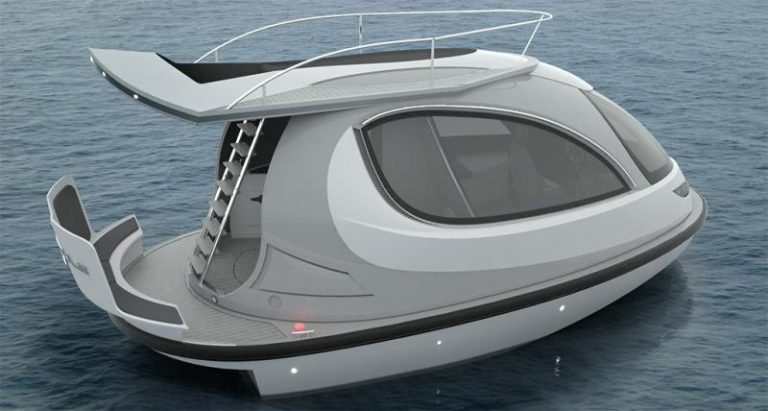 Jet Capsule ~ The Cutest Little Yacht On The Water