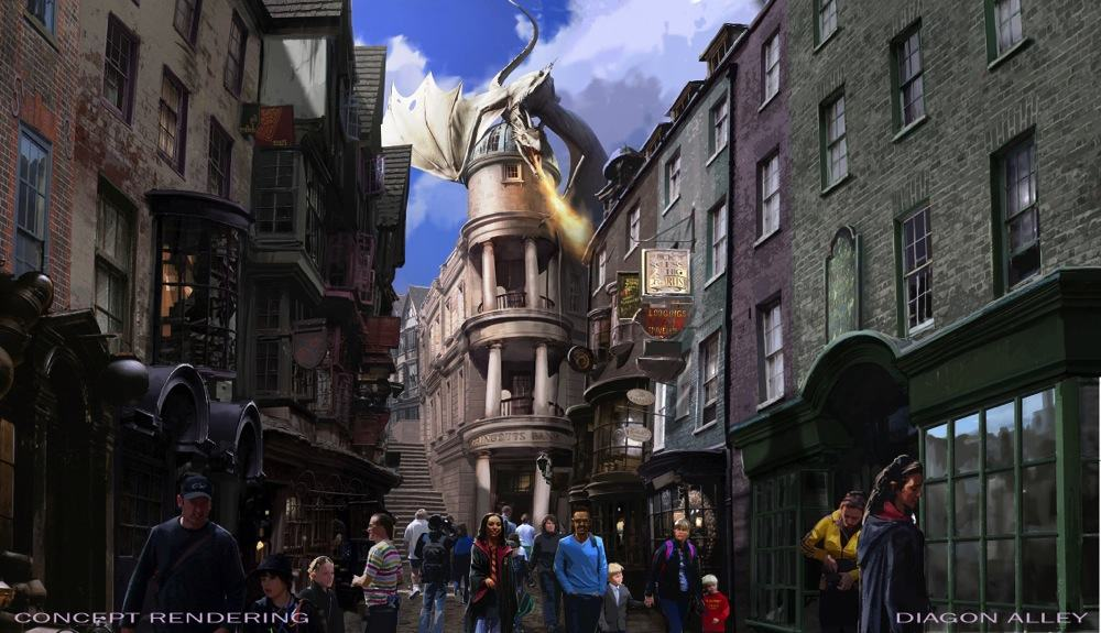Universal Orlando Resort Reveals More Details About The Wizarding World of Harry Potter – Diagon Alley