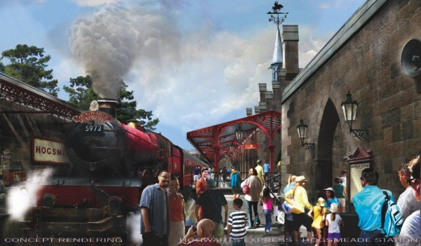 Wizarding World of Harry Potter - Hogsmeade Station