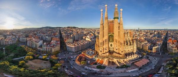 Barcelona via Airpano