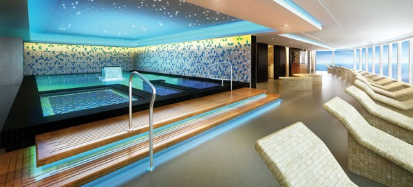 Norwegian Getaway Thermal Spa Suite