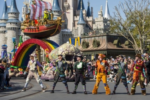 Disney Festival of Fantasy Parade - Peter Pan