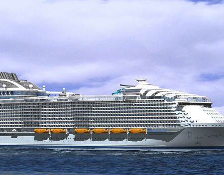 Royal Caribbean third Oasis ship