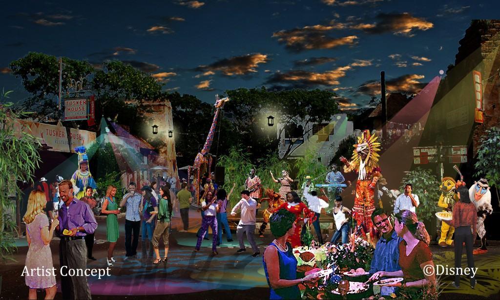 Disney's Animal Kingdom Launches 'Harambe Nights' on June 7