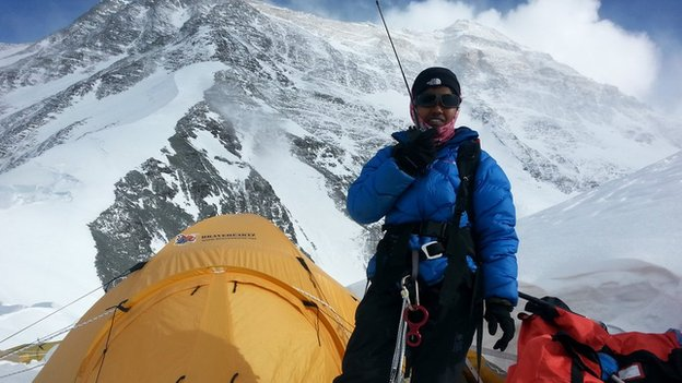 13 Year old Reaches Top of the World's Tallest Summit