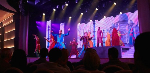 Regal Princess Cruise Ship - Entertainment
