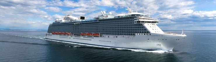 Regal Princess Sets Sail on Inaugural Voyage in The Mediterranean