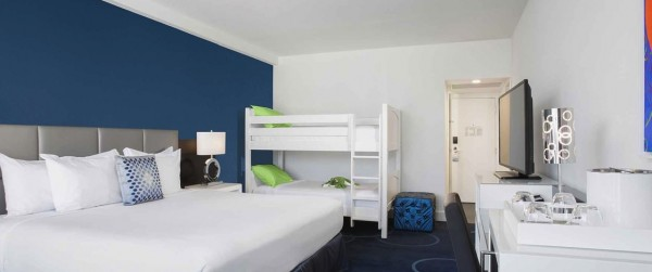 Bunk bed room - B Resort & Spa, Orlando