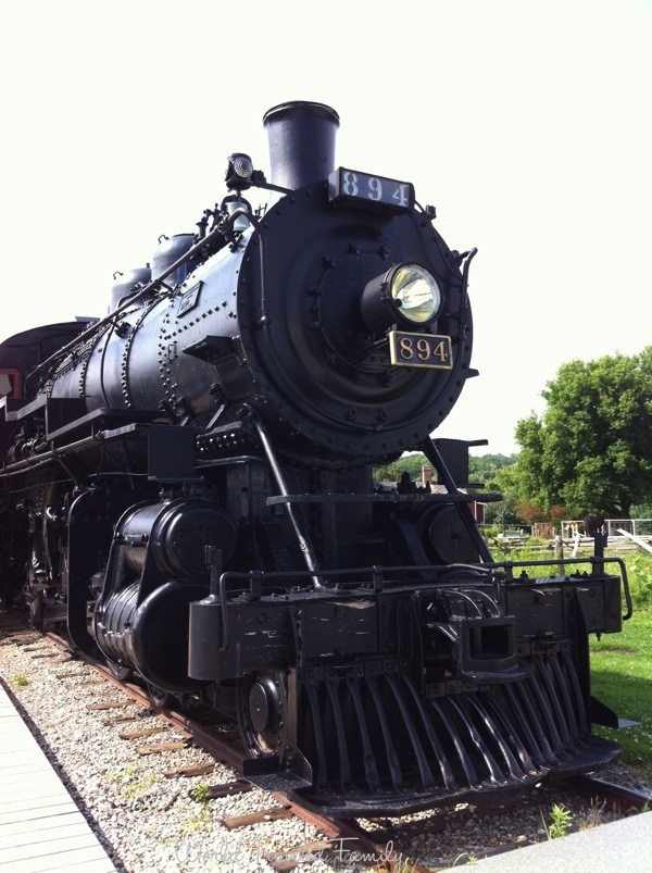 Doon Heritage Village - Steam Train Engine 894