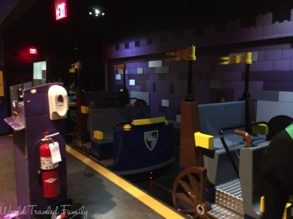 Legoland Discovery Center Toronto - Kindom Quest ride