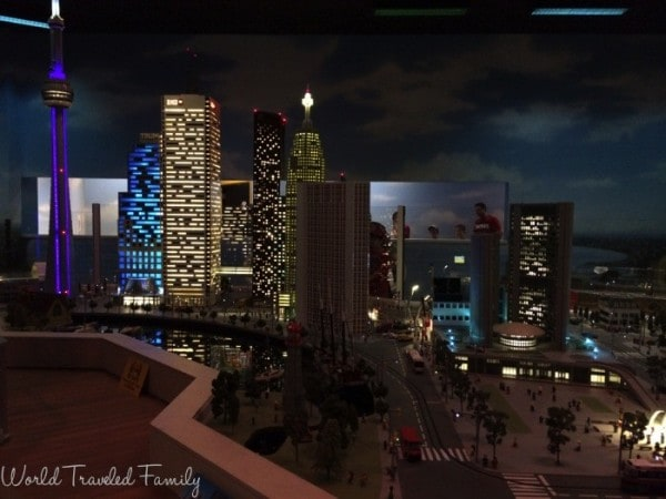 Legoland Discovery Center Toronto - Miniland At night