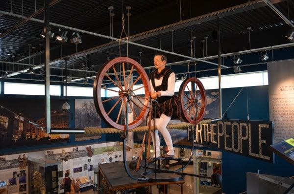 Waterloo Region Museum - Andrew jenkins Display