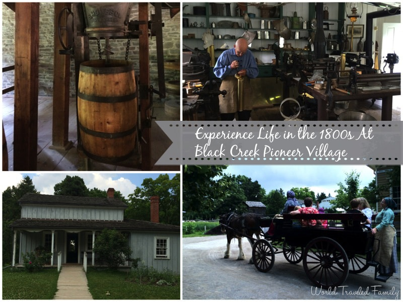 Experience Life in the 1800s At Black Creek Pioneer Village