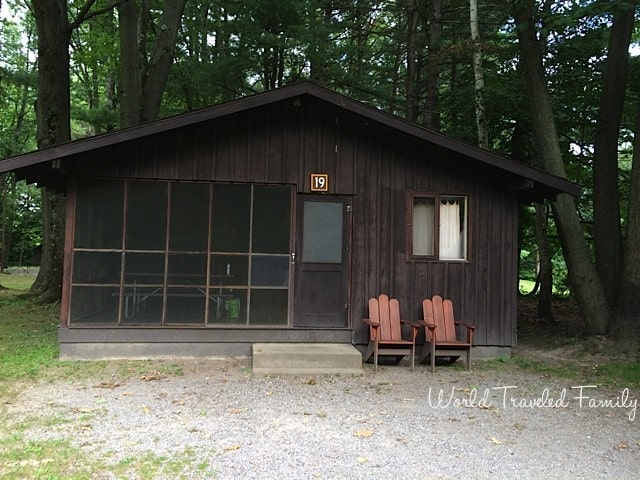Cabin Livin' At Letchworth State Park, NY {Video Tour}