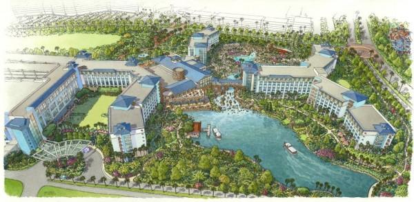 Loews Sapphire Falls Resort Rendering