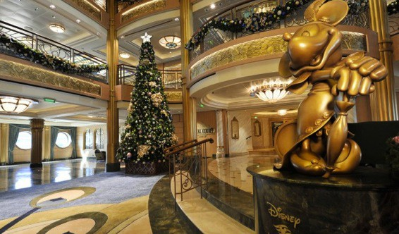 Magical Winter Holidays onboard Disney Fantasy