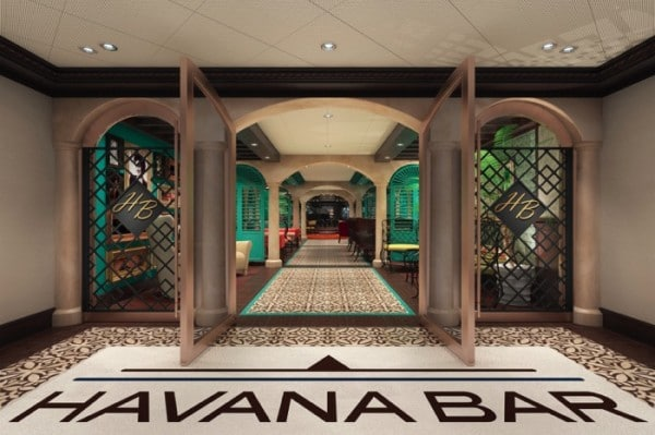 Carnival Vista Havan Plaza Entry