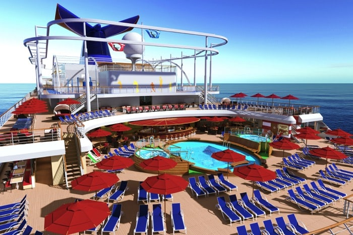 Carnival Cruise Lines Introduces Their New Vista Ship