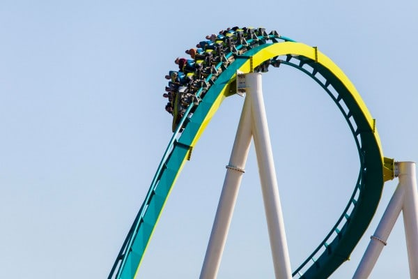 Fury 325 Carowinds - turn