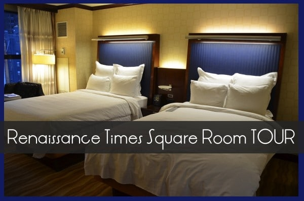 renaissance times square room tour
