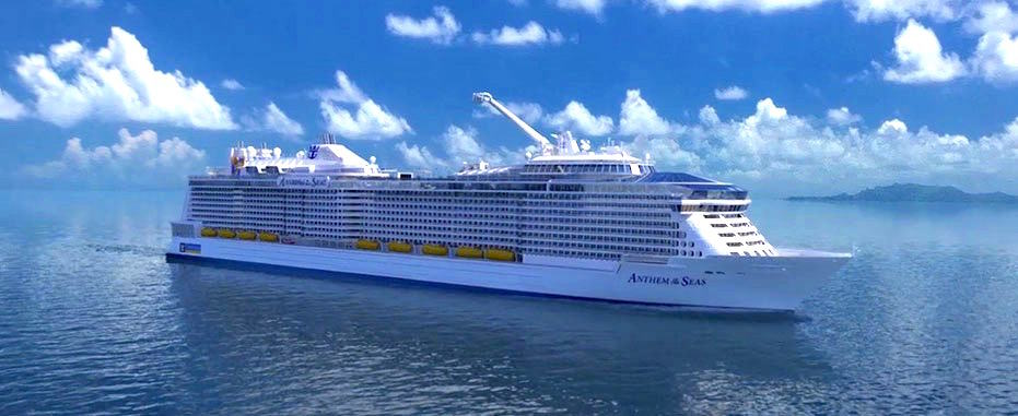 RCI's Anthem of the Seas Arrives in Southampton
