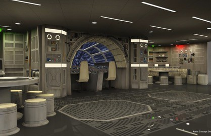Disney Dream Millenium Falcon room