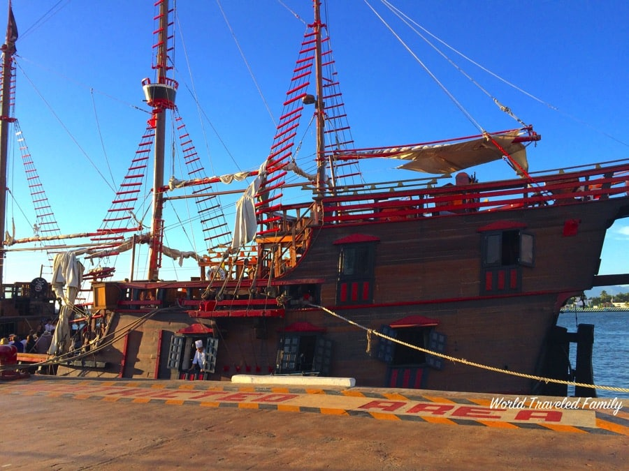 Sail The High Seas with The Pirate Ship Cruise In Puerto Vallarta {Video Review}
