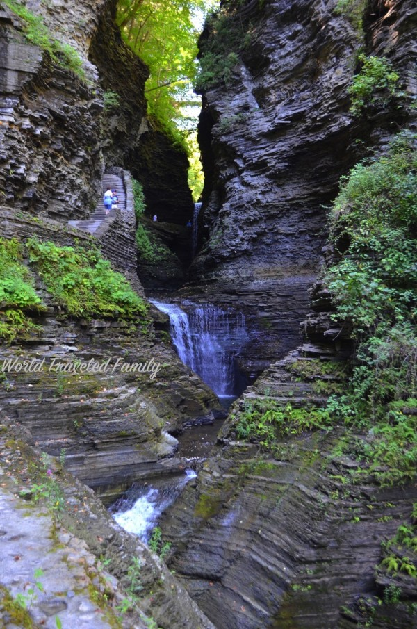 Watkins Glen State Park Minnehaha falls
