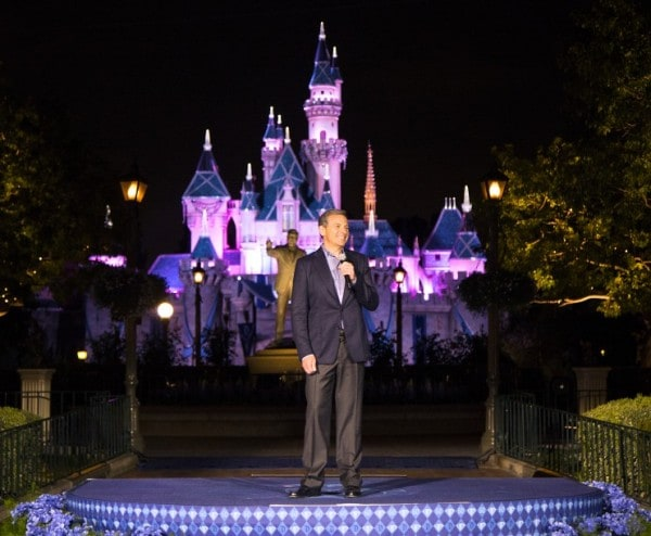 BOB IGER KICKS OFF DISNEYLAND DIAMOND CELEBRATION