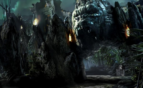 Skull Island Reign of Kong Entrance