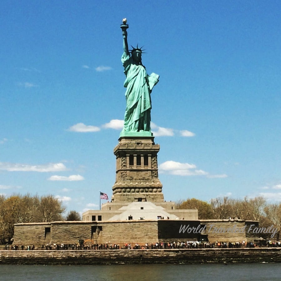 Statue Of Liberty New York City World Traveled Family