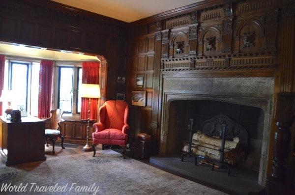 Edsel & Eleanor Ford House - Edsel's study