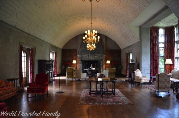 Edsel & Eleanor Ford House - ball room