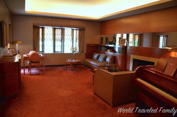 Edsel & Eleanor Ford House - boys lounge
