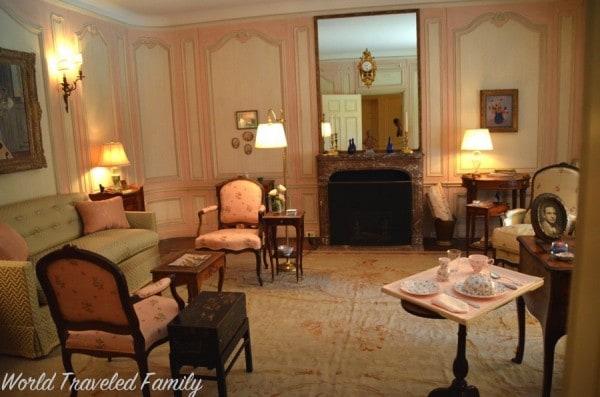 Edsel & Eleanor Ford House - eleanor's study