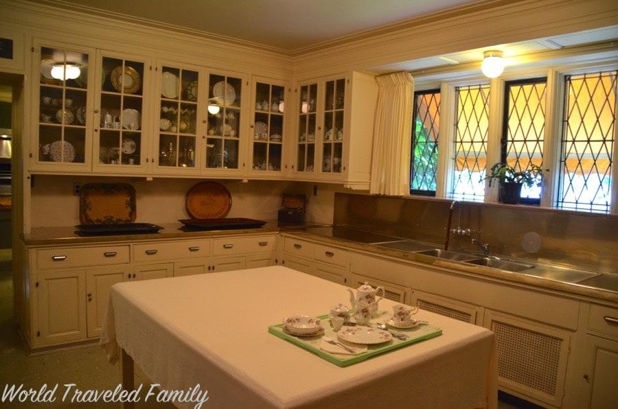 Edsel Amp Eleanor Ford House Kitchen World Traveled Family